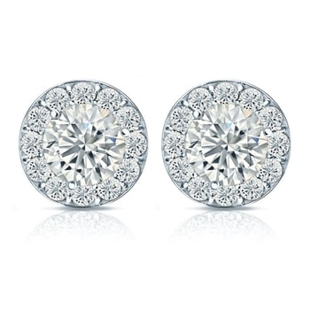 Halo Diamond Studs