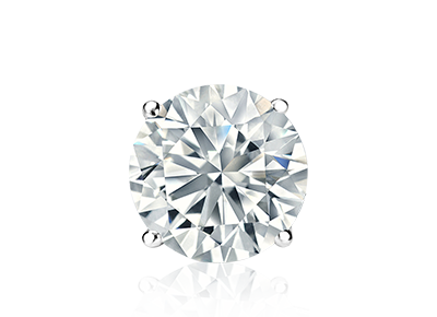 single diamond studs at diamondstudscom