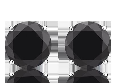 Men S Black Diamond Stud Earrings