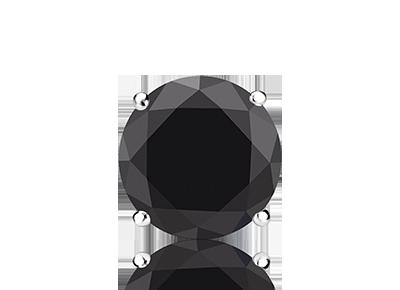 Single Black <span>Diamond Studs</span>