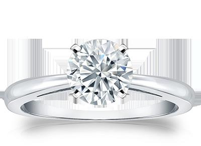 Round Certified <span>Diamond Rings</span>