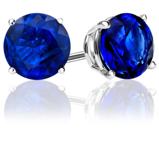 charm sapphire bn awesome ebay men stud earrings for mens gold b s crystal blue gf sparkling studs