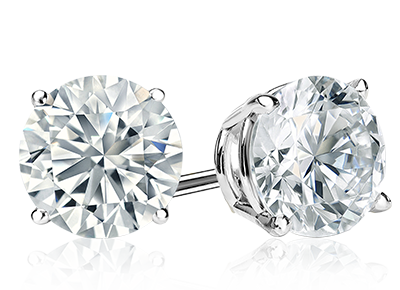Round Diamond <span>Stud Earrings</span>