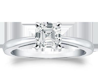 Asscher Diamond <span>Rings</span>