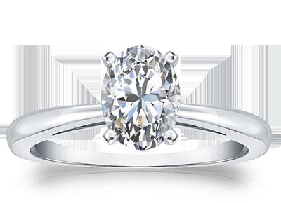 Oval Diamond <span>Rings</span>
