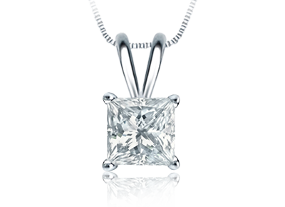 Princess Diamond <span>Pendants</span>
