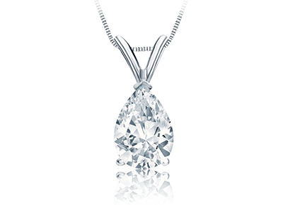 Pear Cut Diamond <span>Pendants</span>