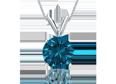 Naturally Blue  <span>Diamond Pendants</span>