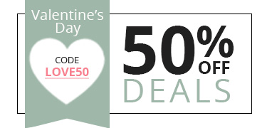 50% off deals