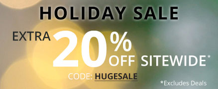 Holiday Sale Extra 20% off Sitewide