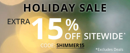 Holiday Sale Extra 15% off Sitewide