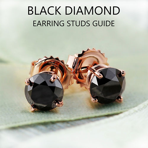Black diamond stud earring buying guide