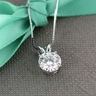 SOLITAIRE DIAMOND PENDANTS