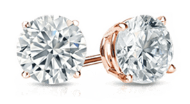 1 1/2 Carat Diamond Earrings