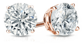 2 Carat Diamond Earrings