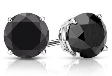 COLOR DIAMOND STUD EARRINGS