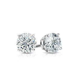 1/2 Carat Diamond Earrings