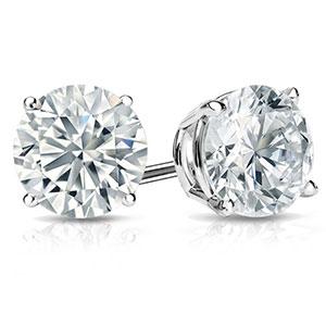 H2 Carat Diamond Earrings
