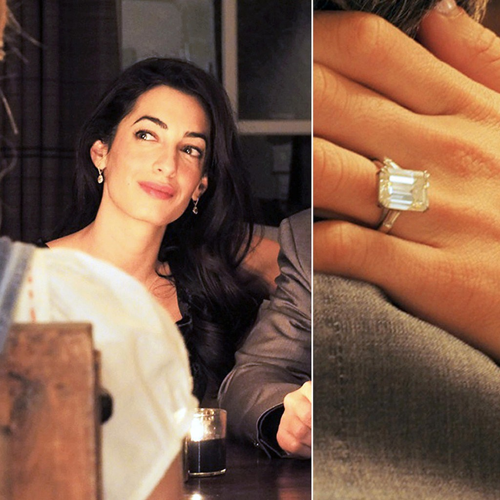 Top 6 Most Glamorous Celebrity Engagement Rings
