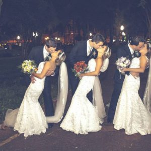 You Won't Believe How These Triplet Sisters Tied The Knot