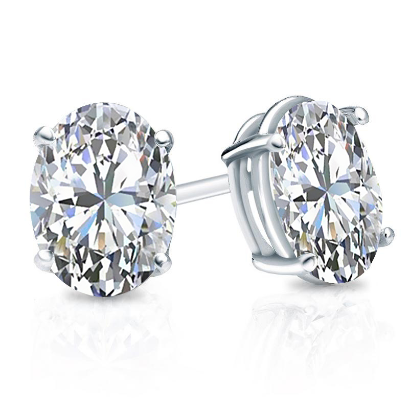 Are These 2 Ct Tw Oval Diamond Studs The Right Size For You