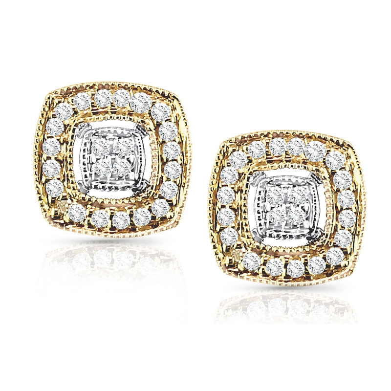 shaped image pair a diamond of star stud earrings