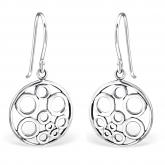 Sterling Silver Geometric Earrings